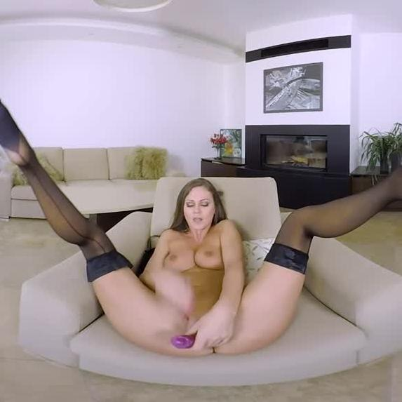 Hot And Horny TINA KAY Puts On A Solo Performance