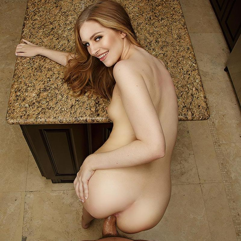 Kitchen Fuck With Horny Teen Blondie