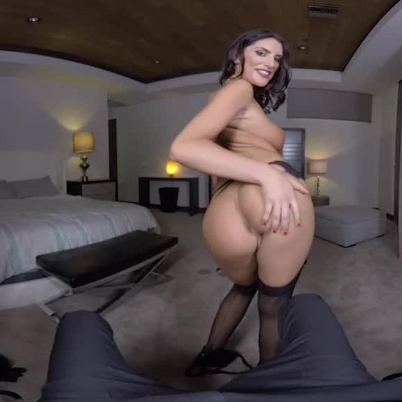 VR August got All Natural Tits