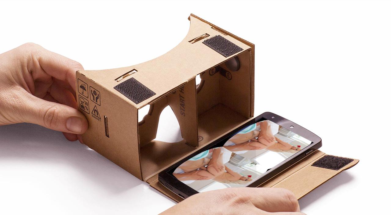 Google cardboard porn videos